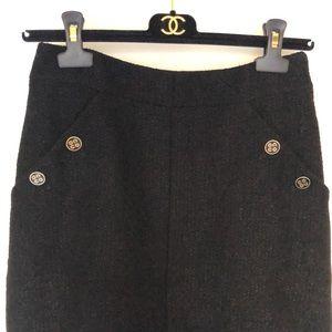 Chanel knee length skirt